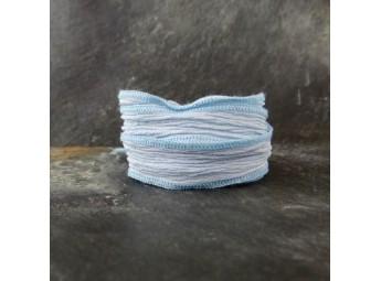 Lien en soie Power Blue