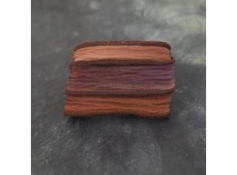 Lien en soie Chocolate